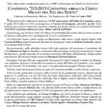 comunicato Conferenza Editto di Costantino
