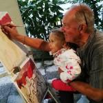 Nonno & nipotina settembre 2017