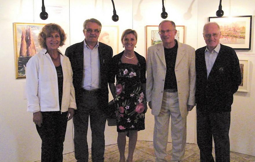 """Tre sindaci alla Mostra """"Il dono di vedere"""" (2011)"""
