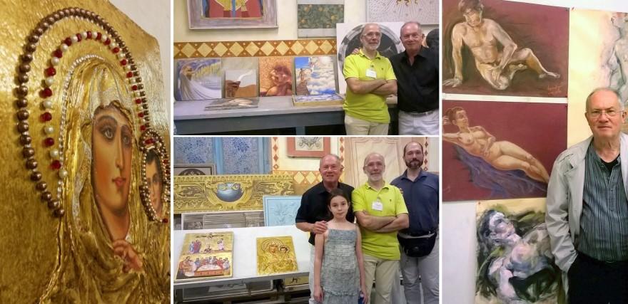 Esposizione collettiva Scuola d'Arte del Castello