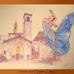 Cerete uno scrigno d'Arte. Disegno (2010). Primo premio Memoriale Lorenzo Stoffler