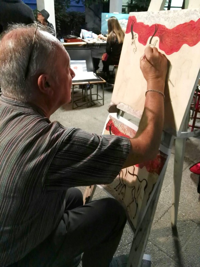 Live Painting Scuola d'arte del Castello (2017)