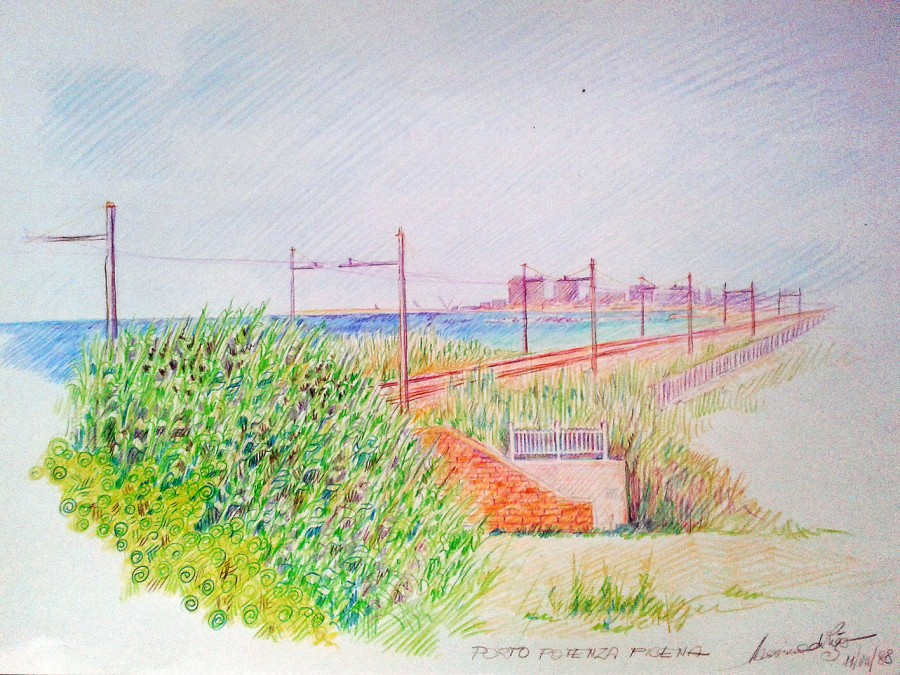 Porto Potenza Picena. Pastelli (1988)