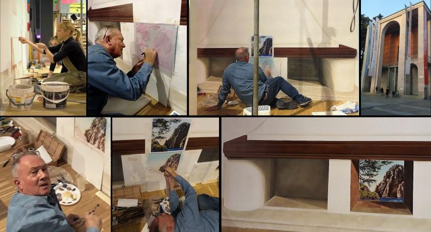 Live Painting Triennale di Milano (2018)v